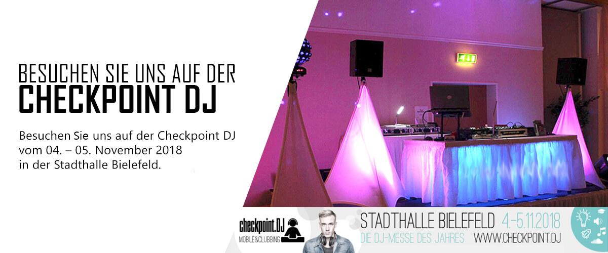 eXpand auf der CheckpointDJ 2018 in Bielefeld