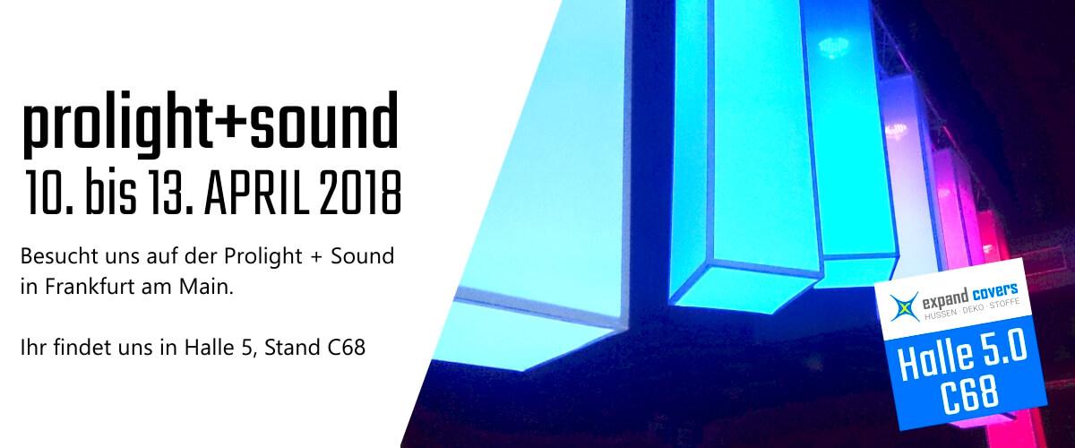 eXpand auf der PLS 2018 Frankfurt